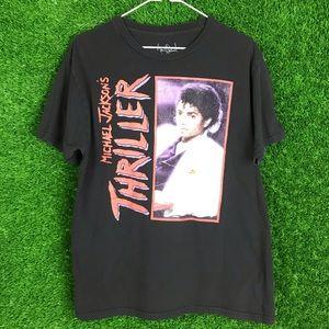 Michael Jackson Thriller Rap Tee Shirt